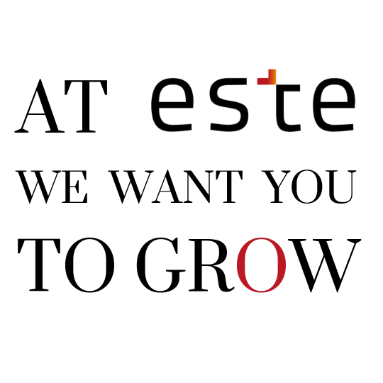At este we want you to grow
